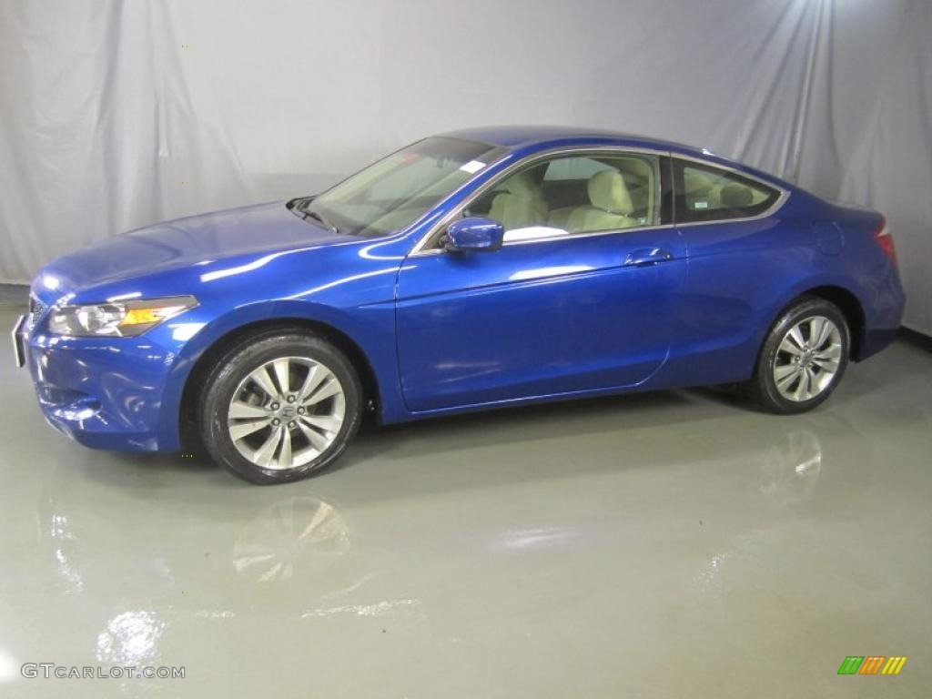 Belize Blue Pearl 2009 Honda Accord Lx S Coupe Exterior