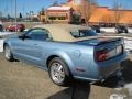 2007 Windveil Blue Metallic Ford Mustang GT Premium Convertible  photo #2