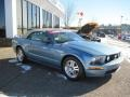 2007 Windveil Blue Metallic Ford Mustang GT Premium Convertible  photo #4