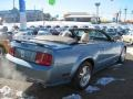 2007 Windveil Blue Metallic Ford Mustang GT Premium Convertible  photo #13