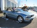 2007 Windveil Blue Metallic Ford Mustang GT Premium Convertible  photo #15