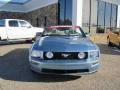 2007 Windveil Blue Metallic Ford Mustang GT Premium Convertible  photo #16