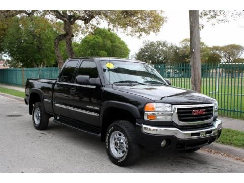 2004 gmc sierra 2500hd sle extended cab 4x4 data info and specs. Black Bedroom Furniture Sets. Home Design Ideas