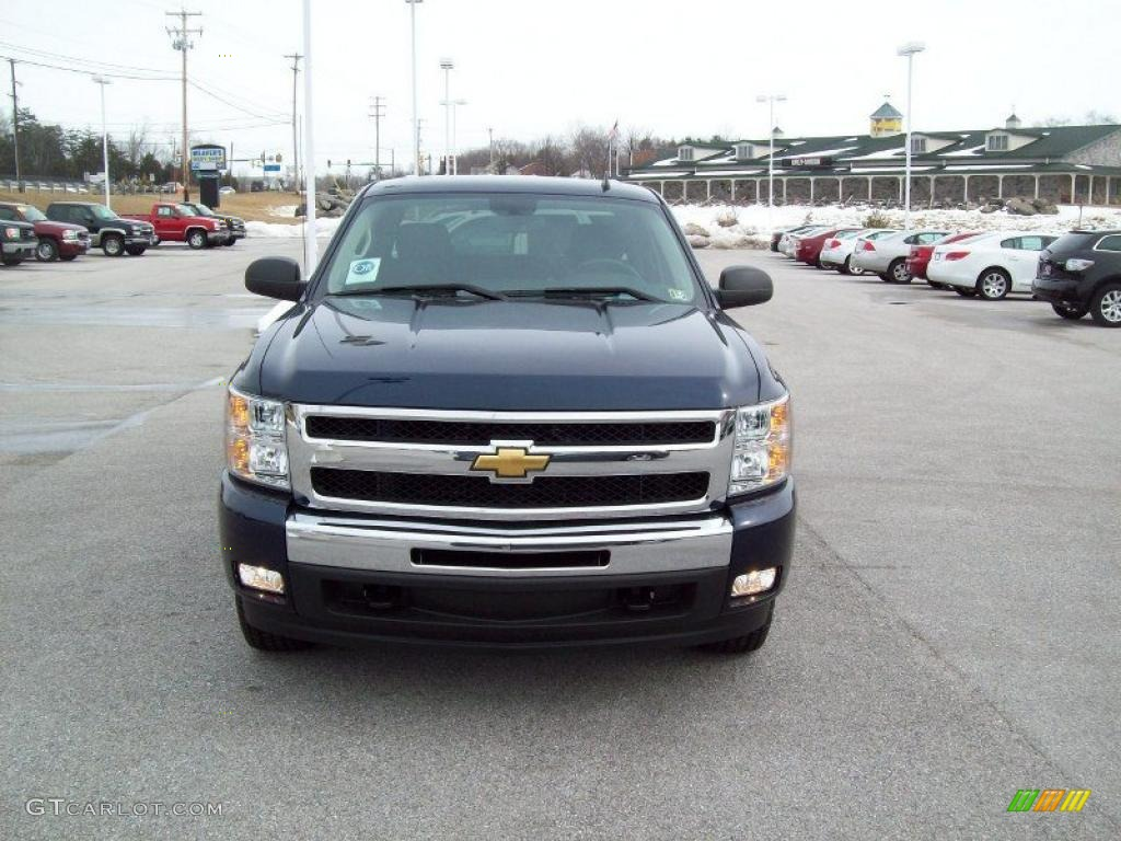 2011 Silverado 1500 LT Crew Cab 4x4 - Imperial Blue Metallic / Ebony photo #19