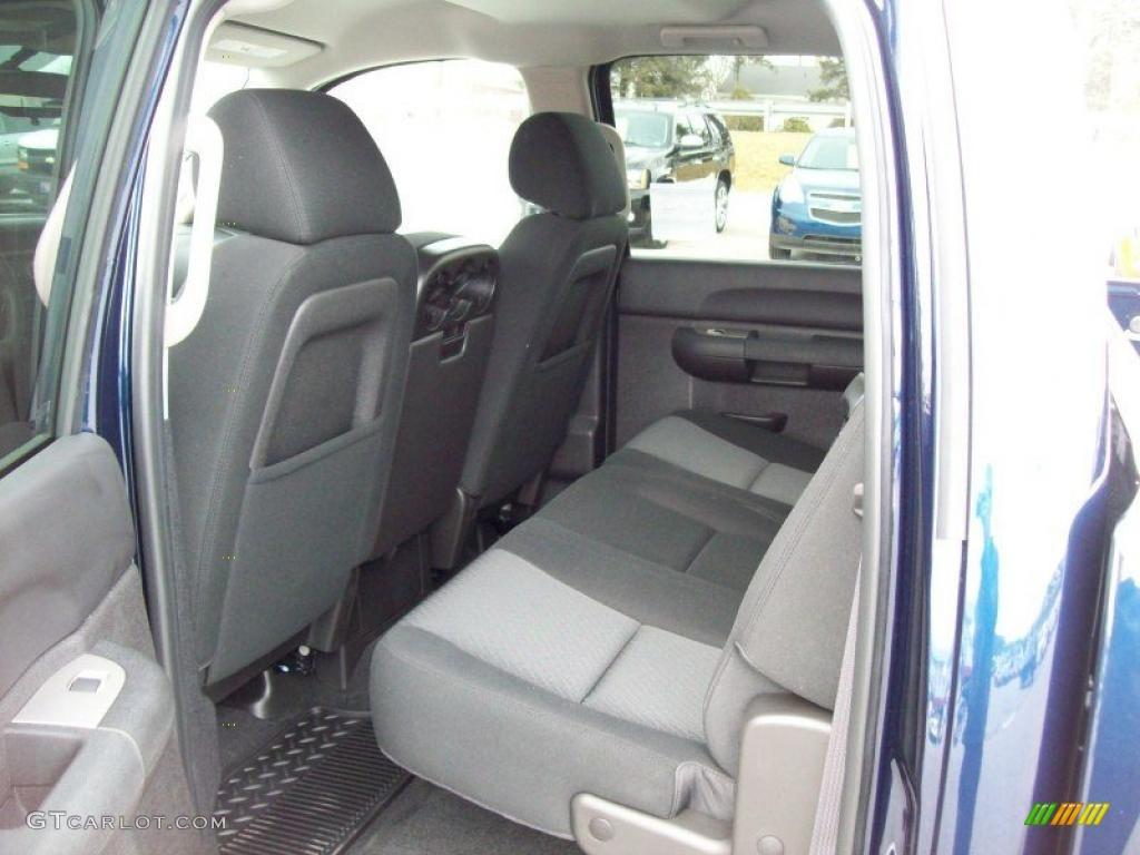 2011 Silverado 1500 LT Crew Cab 4x4 - Imperial Blue Metallic / Ebony photo #26