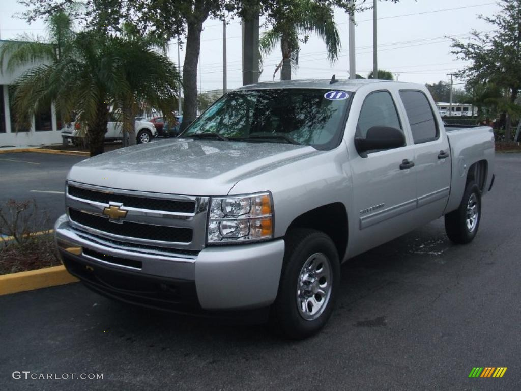 2011 chevrolet silverado 1500 ls crew cab exterior photos. Black Bedroom Furniture Sets. Home Design Ideas