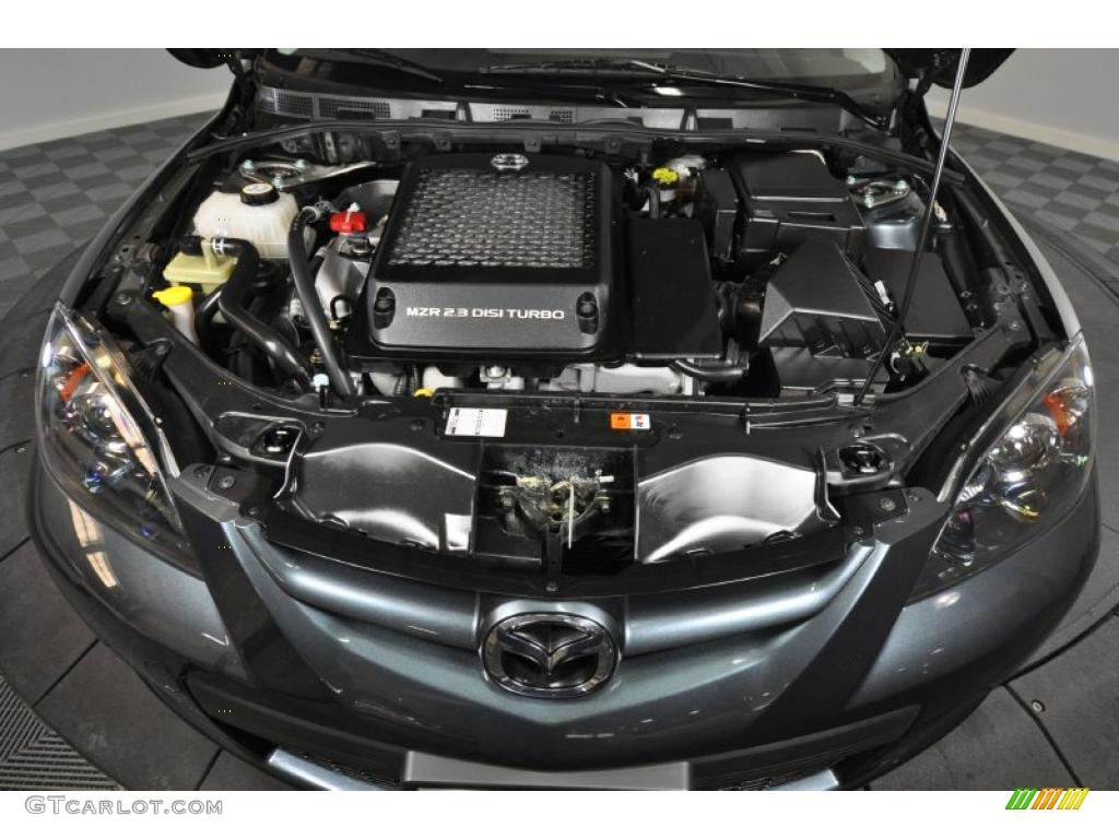 2009 Mazda MAZDA3 MAZDASPEED3 Grand Touring Engine Photos