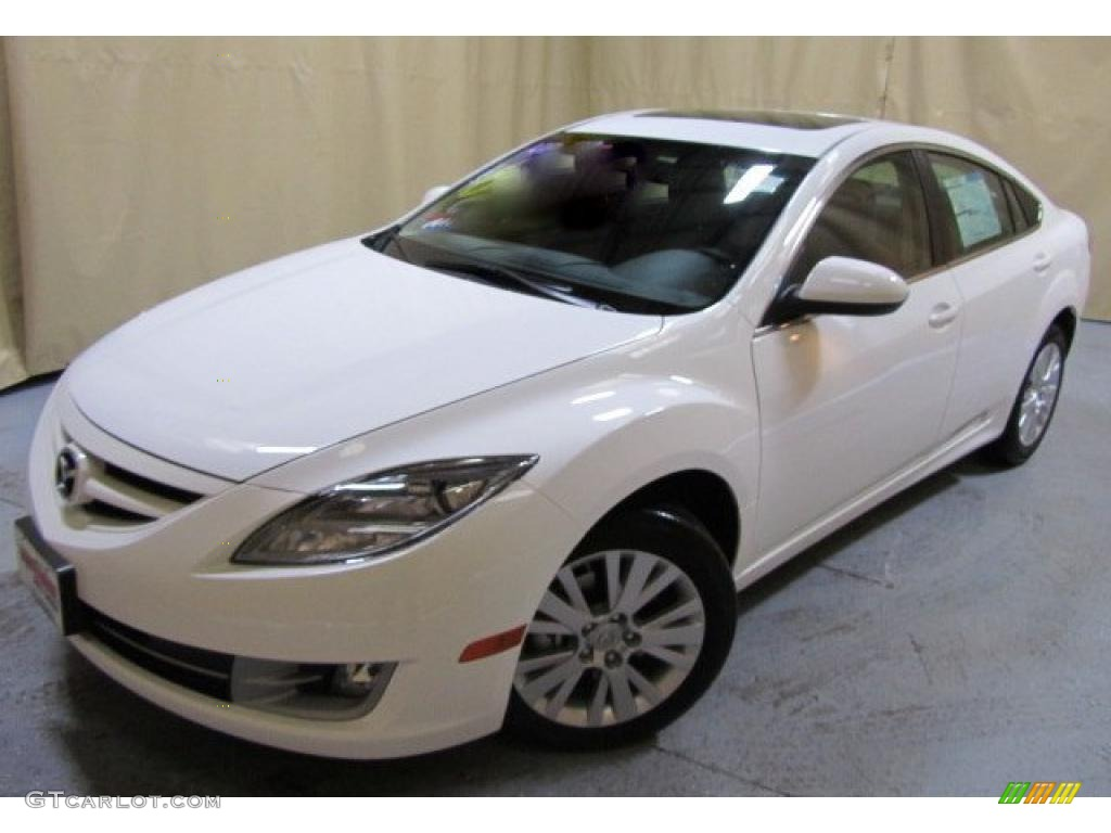 2011 techno white pearl mazda mazda6 i sport sedan #45230624