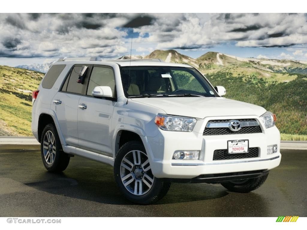 White Toyota 4runner >> 2011 Blizzard White Pearl Toyota 4runner Limited 4x4