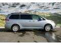 2011 Silver Sky Metallic Toyota Sienna XLE AWD  photo #2