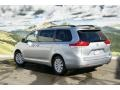 2011 Silver Sky Metallic Toyota Sienna XLE AWD  photo #3