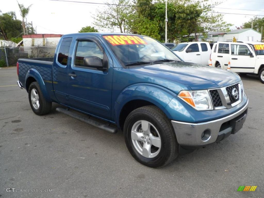 2005 Electric Blue Metallic Nissan Frontier Le King Cab 45230890 Car Color