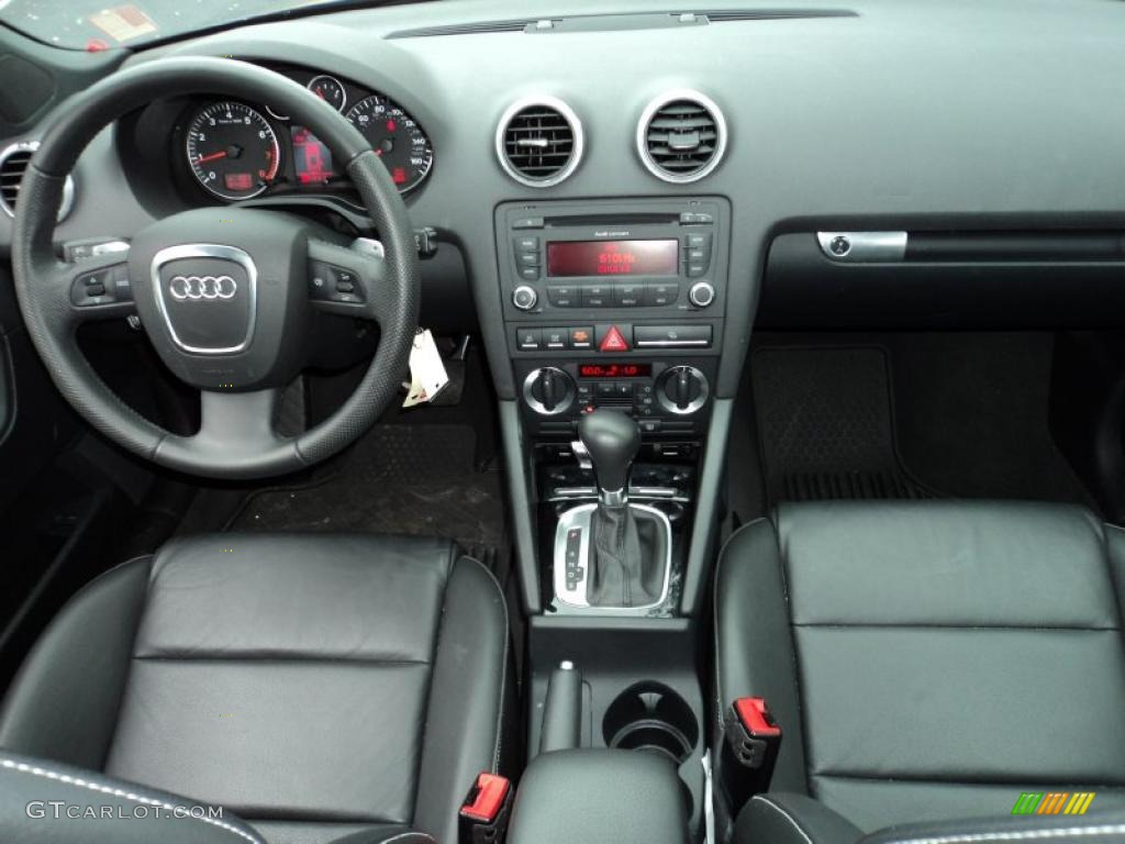 2008 audi a3 2 0t black dashboard photo 45249076. Black Bedroom Furniture Sets. Home Design Ideas