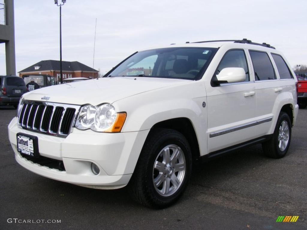 stone white 2008 jeep grand cherokee limited 4x4 exterior photo. Black Bedroom Furniture Sets. Home Design Ideas