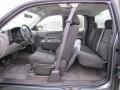 Dark Titanium Interior Photo for 2011 Chevrolet Silverado 1500 #45261552