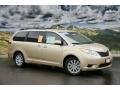 2011 Sandy Beach Metallic Toyota Sienna LE AWD  photo #1