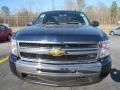 2011 Imperial Blue Metallic Chevrolet Silverado 1500 LS Extended Cab  photo #2