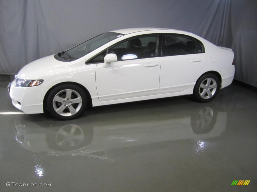 taffeta white 2009 honda civic lx s sedan exterior photo 45293281. Black Bedroom Furniture Sets. Home Design Ideas