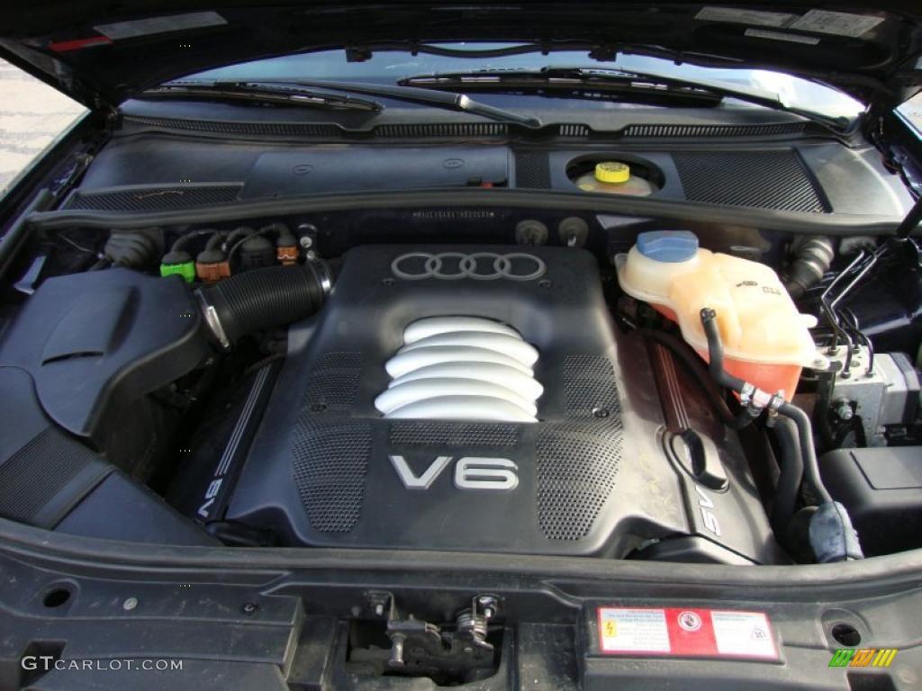 2001 Audi A6 2 8 Quattro Sedan 2 8 Liter Dohc 30