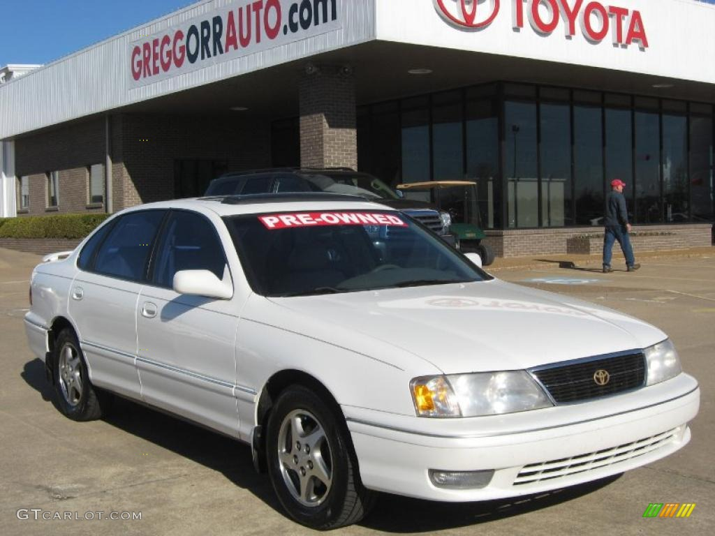 1999 white diamond pearl toyota avalon xls 45281637 gtcarlot com car color galleries gtcarlot com