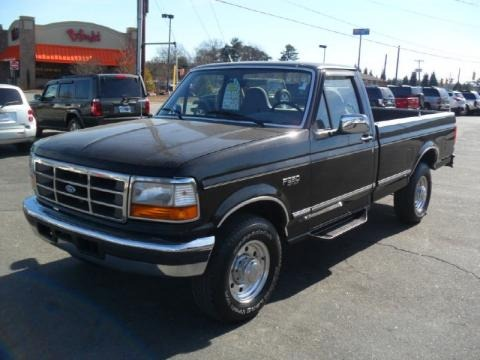 1997 ford f250 regular cab data info and specs. Black Bedroom Furniture Sets. Home Design Ideas