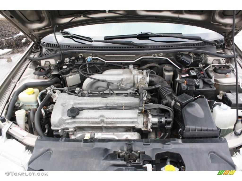 Mazda Protege 16 Engine 2000 Diagram 1999
