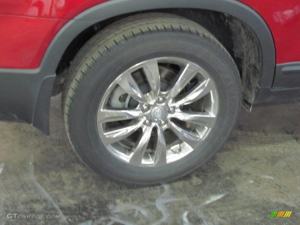 2011 Sorento LX AWD - Spicy Red / Beige photo #3
