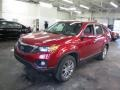 2011 Spicy Red Kia Sorento LX AWD  photo #6