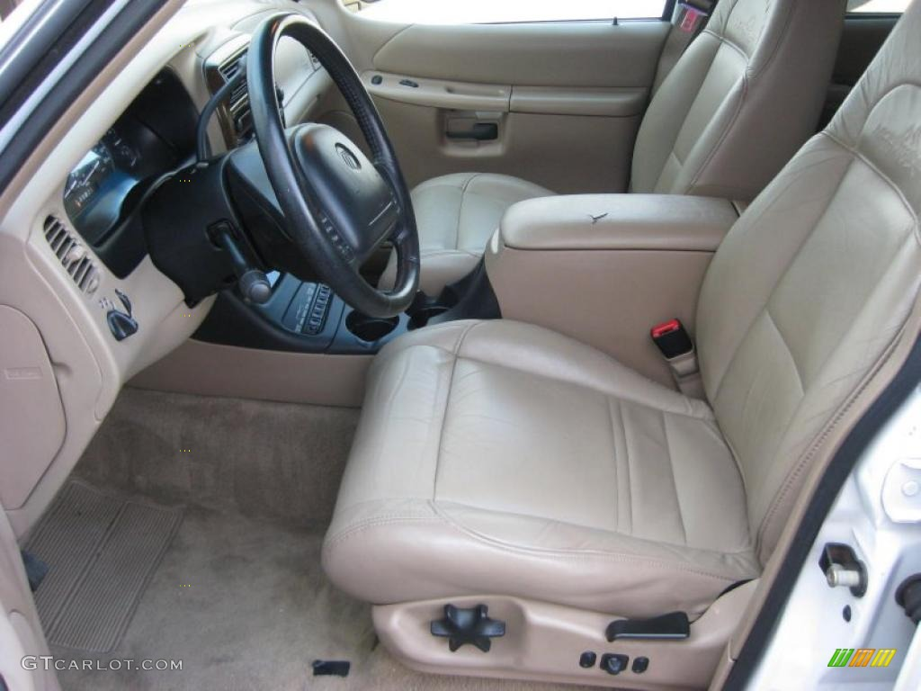 Prairie Tan Interior 2000 Mercury Mountaineer V8 AWD Photo ...