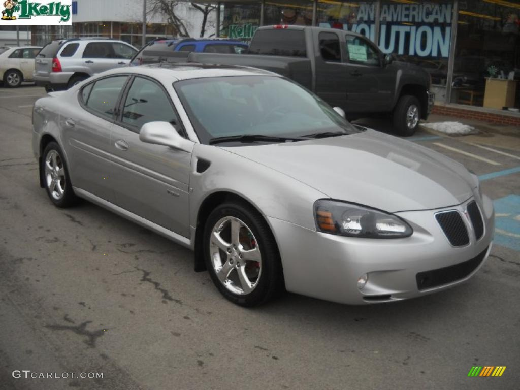 2007 liquid silver metallic pontiac grand prix gxp sedan 45281513 car color. Black Bedroom Furniture Sets. Home Design Ideas