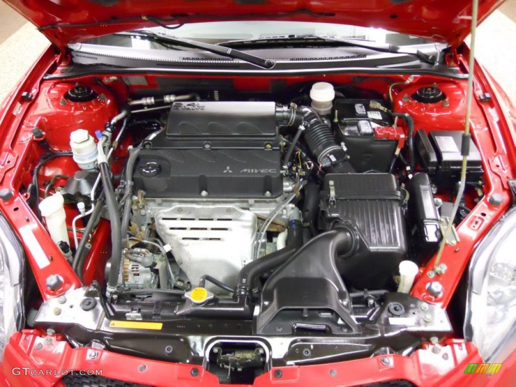 2007 mitsubishi eclipse engine diagram 2007 mitsubishi eclipse gs coupe 2.4 liter dohc 16-valve ... #8