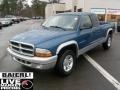 2002 Atlantic Blue Pearl Dodge Dakota SLT Club Cab  photo #3