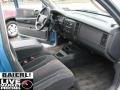 2002 Atlantic Blue Pearl Dodge Dakota SLT Club Cab  photo #16