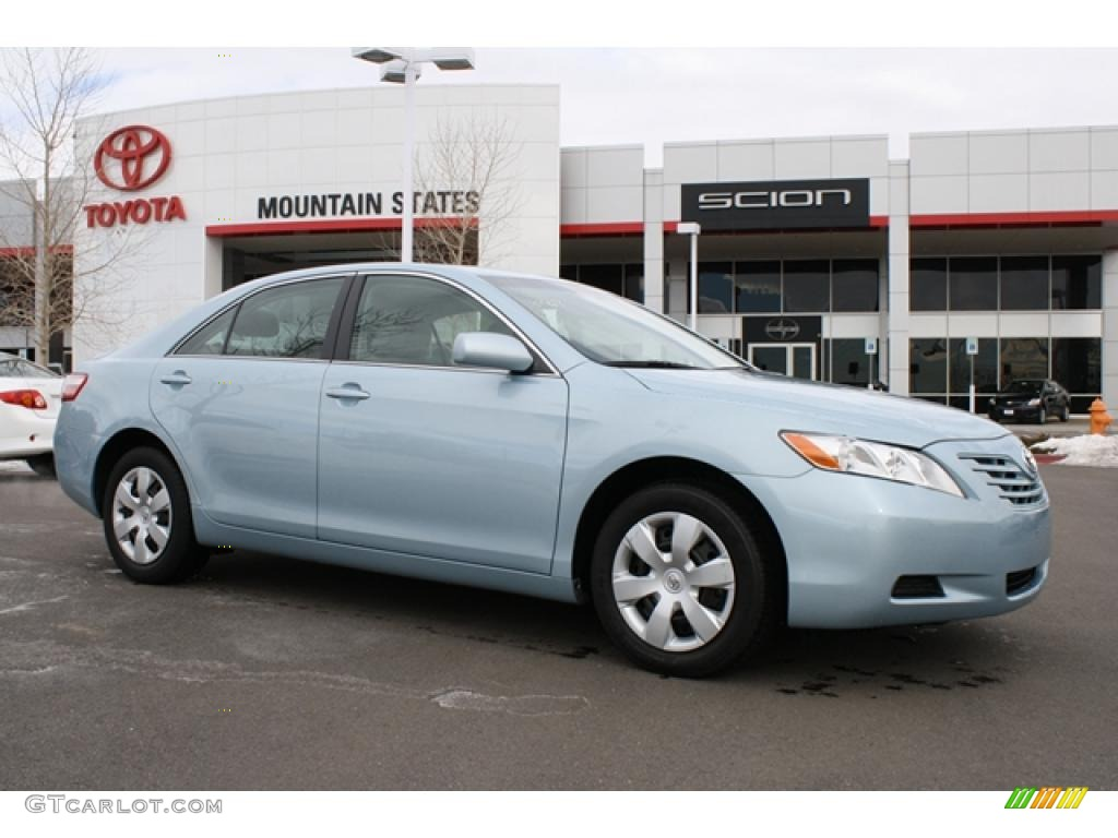 2008 sky blue pearl toyota camry le 45330175 car color galleries. Black Bedroom Furniture Sets. Home Design Ideas