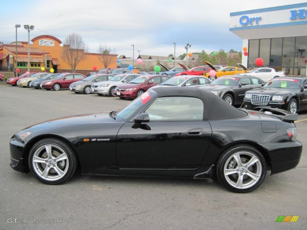 Berlina Black Honda S Roadster Exterior Photo - 2008 s2000