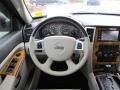 Dark Slate Gray/Light Graystone Steering Wheel Photo for 2008 Jeep Grand Cherokee #45348131