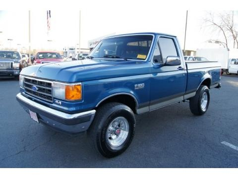 1989 Ford F150 Regular Cab 4x4 Data, Info and Specs