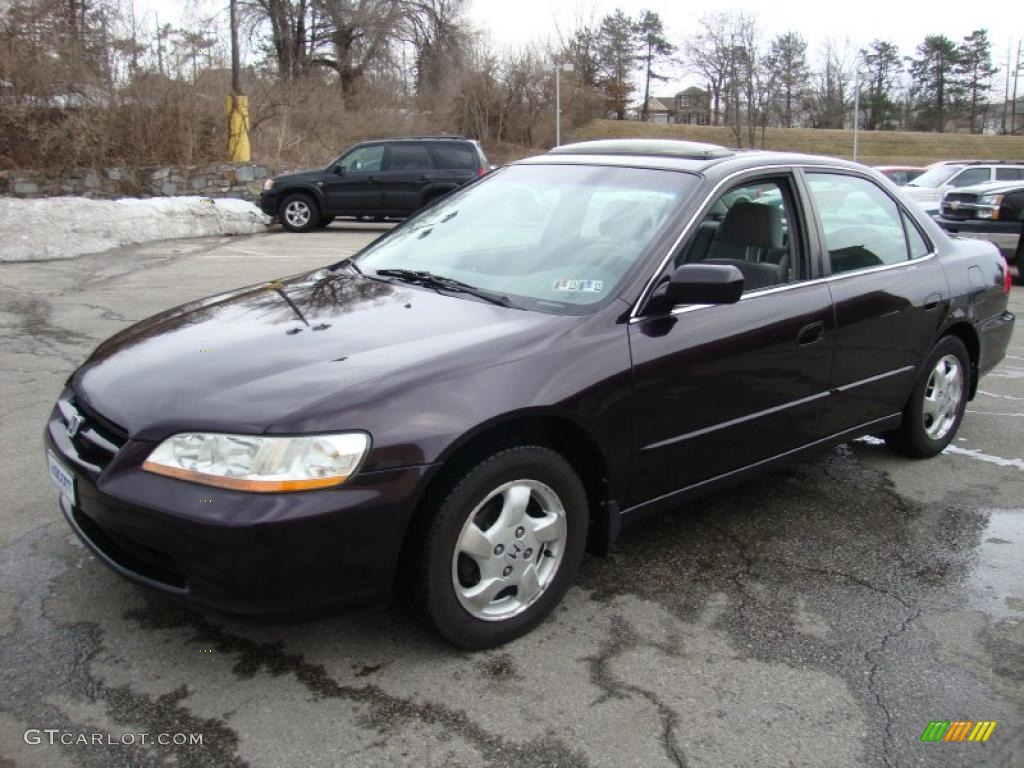 Honda Accord 2014 Coupe V6 >> Black Currant Pearl 1998 Honda Accord EX Sedan Exterior ...