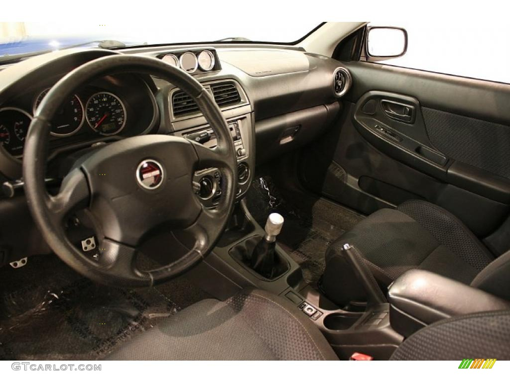 2004 Subaru Impreza Wrx Sedan Interior Photo 45355936