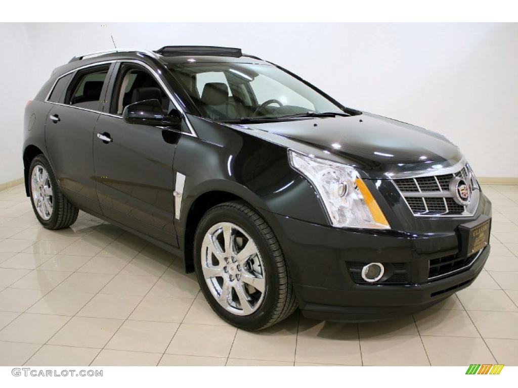 2011 Black Ice Metallic Cadillac Srx 4 V6 Awd 45331988 Car Color Galleries