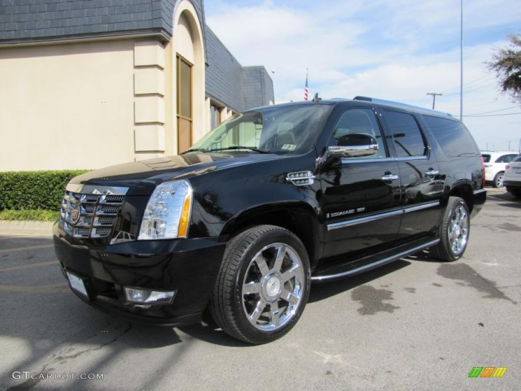 Black Raven 2008 Cadillac Escalade Esv Exterior Photo