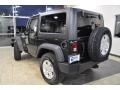 2011 Natural Green Pearl Jeep Wrangler Sport S 4x4  photo #7