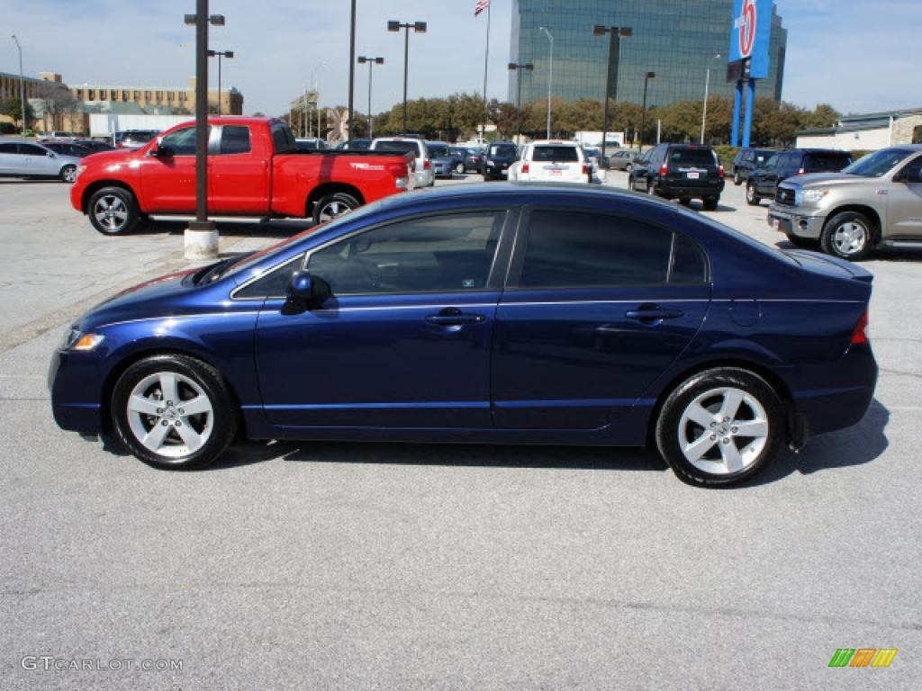 Royal Blue Pearl 2010 Honda Civic Lx S Sedan Exterior Photo 45373012 Gtcarlot Com