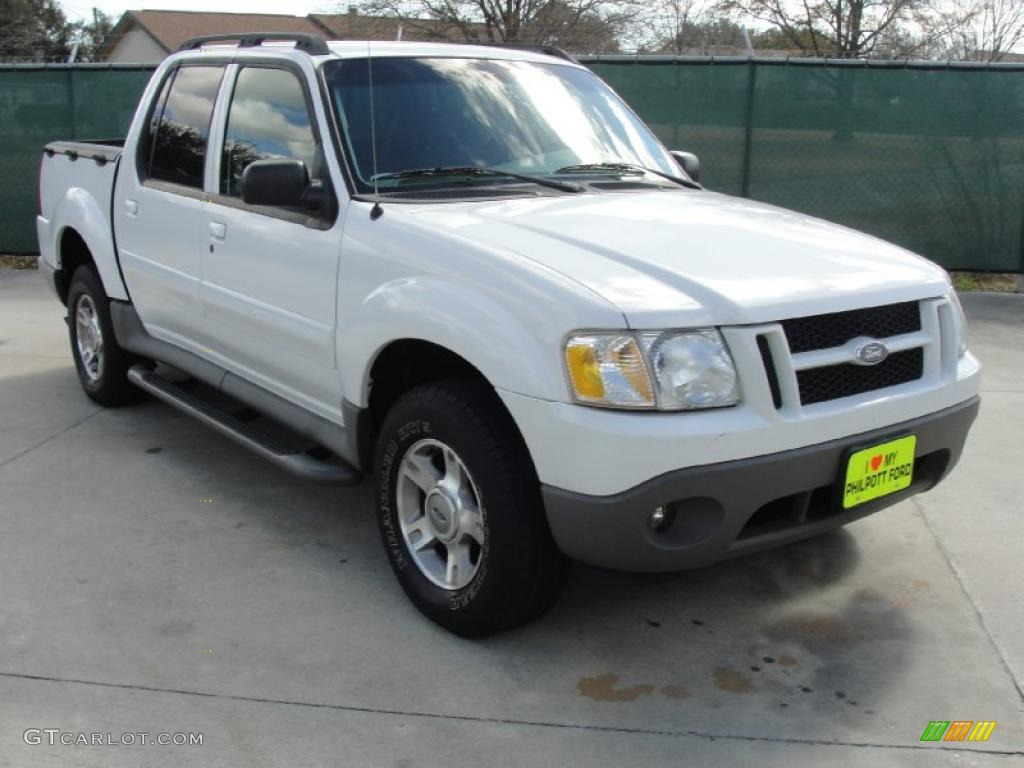 2003 Oxford White Ford Explorer Sport Trac XLT 45331369 Car