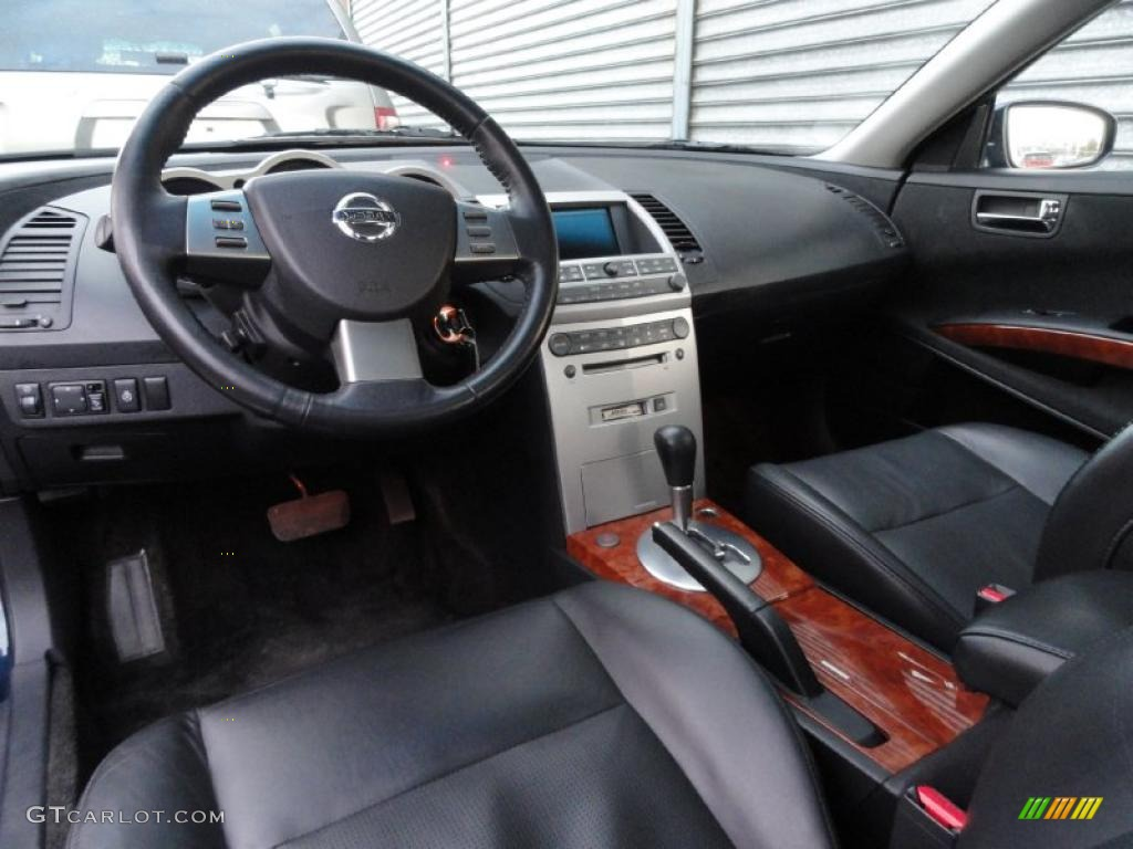 black interior 2005 nissan maxima 3 5 sl photo 45374373