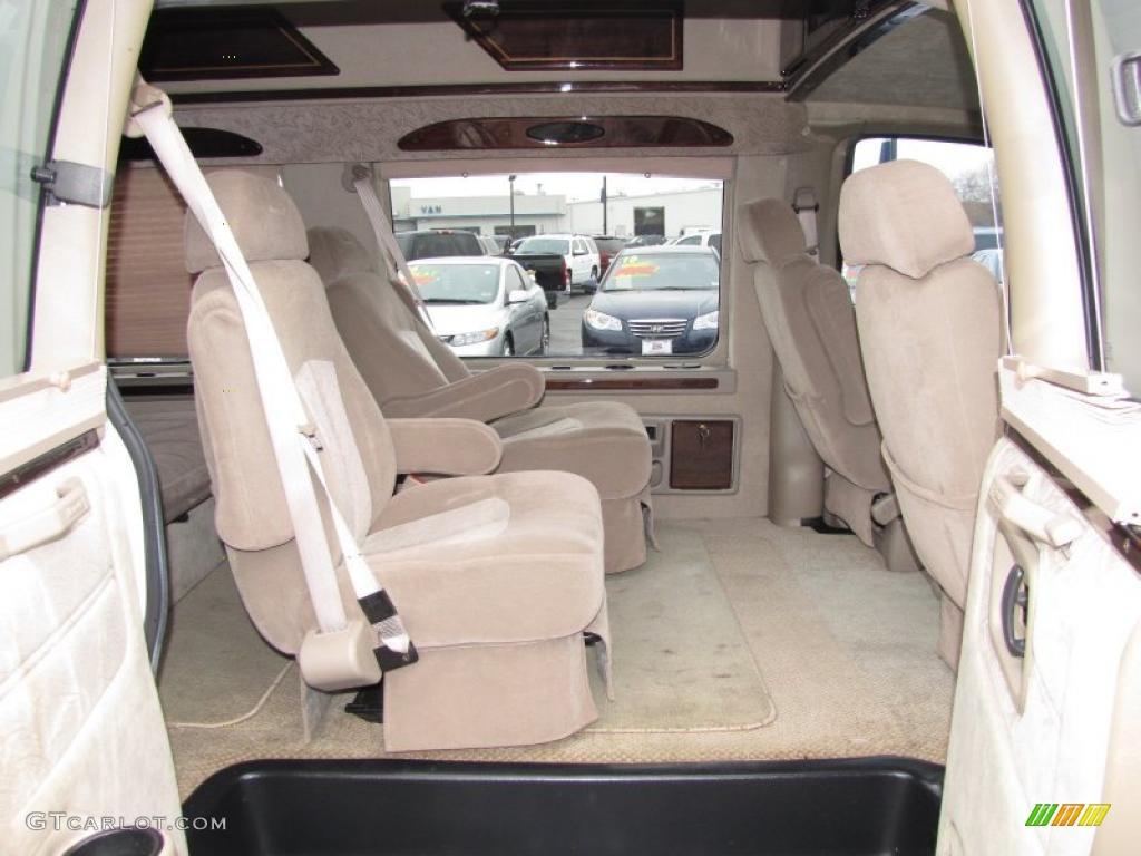 2002 chevrolet express 1500 passenger conversion van interior photo 45380518