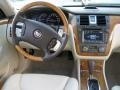 2010 Cadillac DTS Light Linen/Cocoa Interior Dashboard Photo