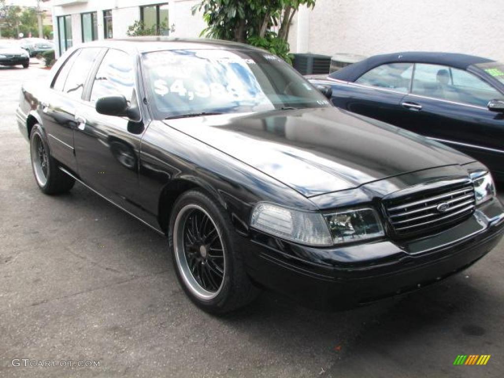 1998 Black Ford Crown Victoria Police Interceptor 45332665 Car Color Galleries