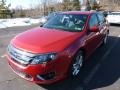 2011 Red Candy Metallic Ford Fusion Sport AWD  photo #5
