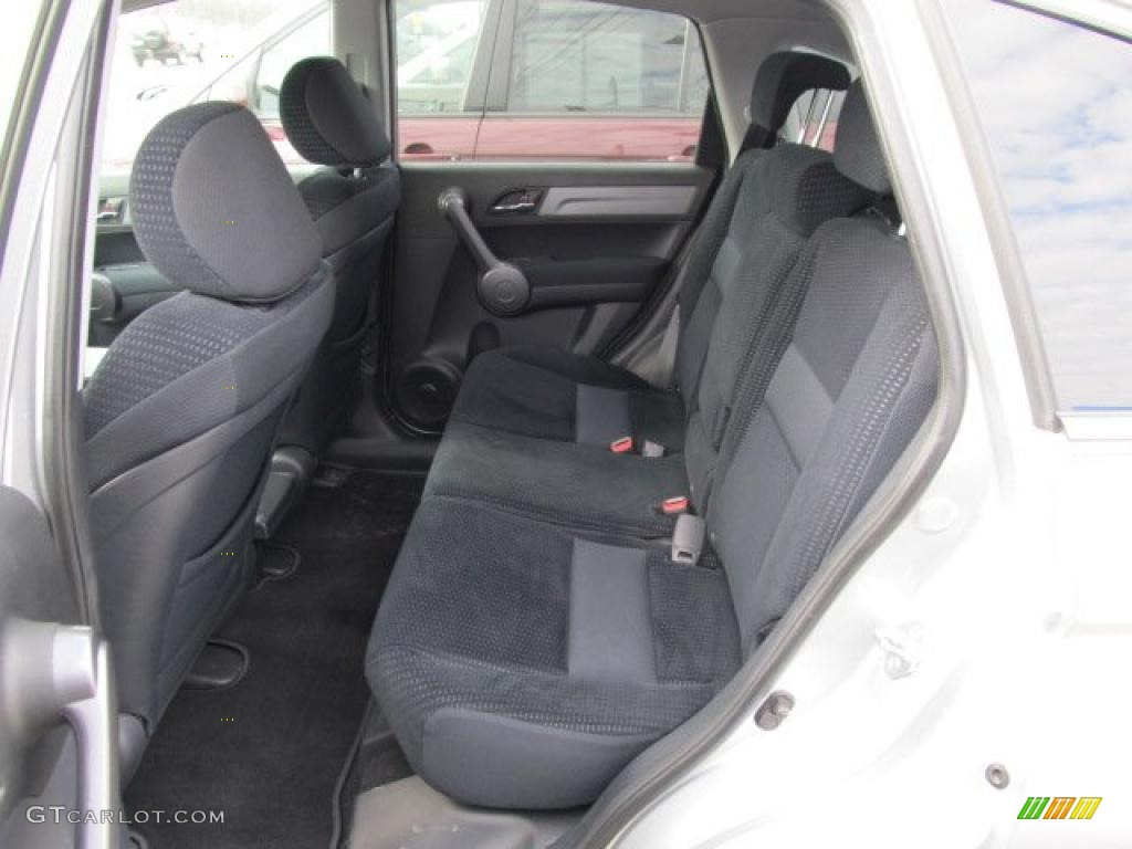2009 CR-V EX 4WD - Alabaster Silver Metallic / Black photo #17